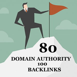 80 Domain Authority 100 Backlinks For Top Google Ranking