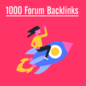 Buy Forum Backlinks from good internet marketing company