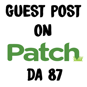 Domain Authority 87 Guest Post on Patch